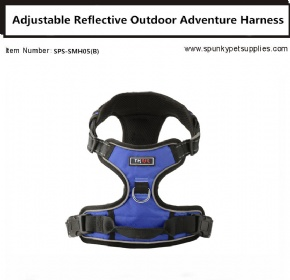 Dog Outdoor Adventure Harness Blue