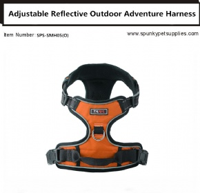 Dog Outdoor Adventure Harness Orange