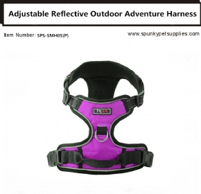 Dog Outdoor Adventure Harness Pink