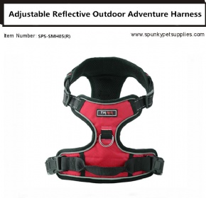 Dog Outdoor Adventure Harnes Red