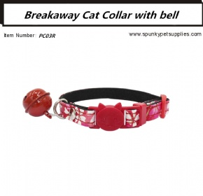 Japanese Style Breakaway Cat Collar Red